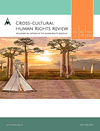 cover image for the Cross-cultural Human Rights Review journal