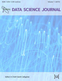 cover image for the Data Science Journal journal