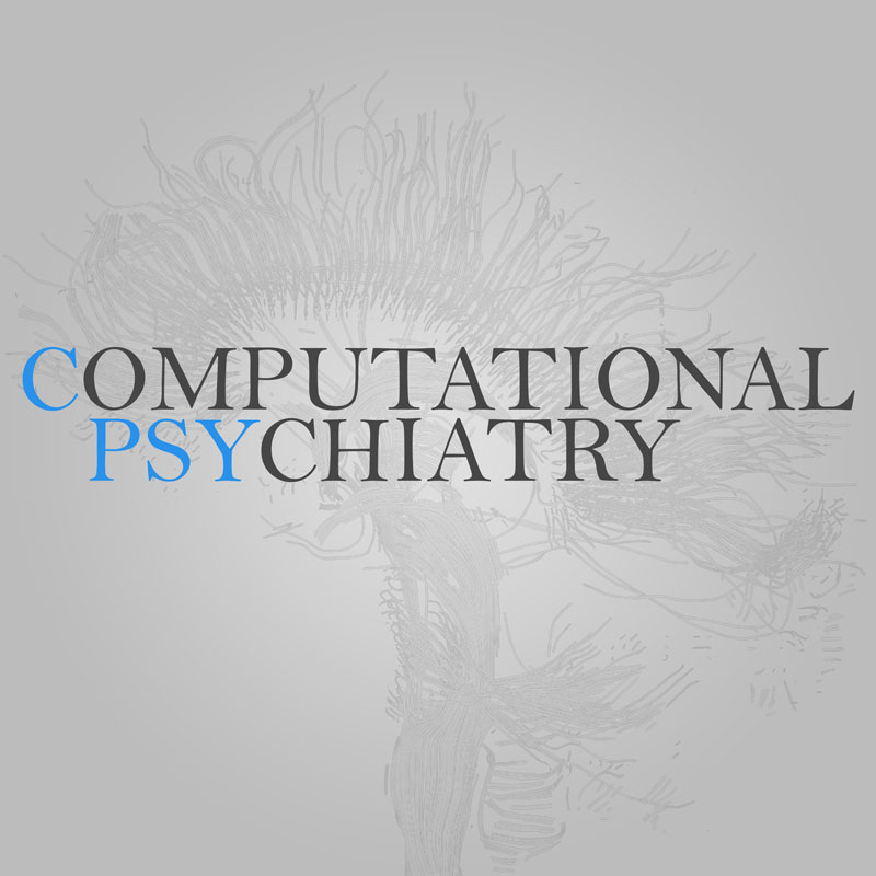 cover image for the Computational Psychiatry journal