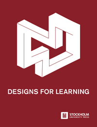 cover image for the Designs for Learning journal