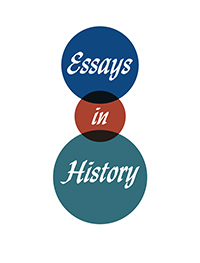 cover image for the Essays in History journal