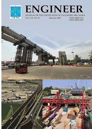 cover image for the Engineer: Journal of the Institution of Engineers, Sri Lanka journal