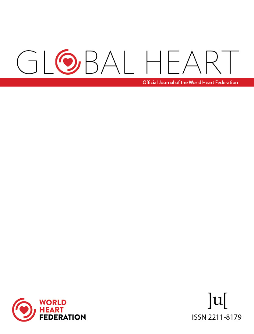 cover image for the Global Heart journal