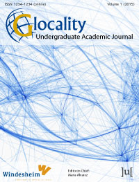 cover image for the Glocality journal