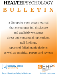 cover image for the Health Psychology Bulletin journal