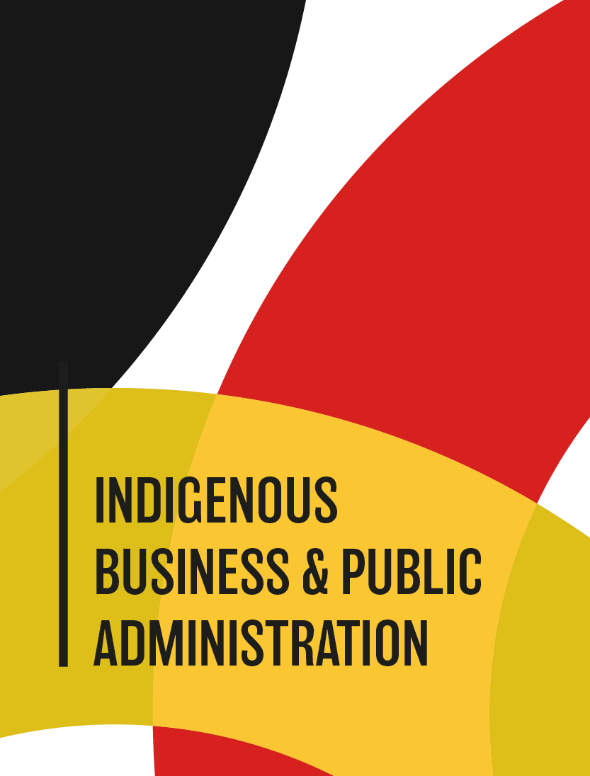 cover image for the Indigenous Business & Public Administration journal