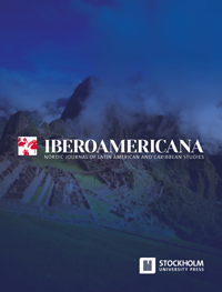 cover image for the Iberoamericana – Nordic Journal of Latin American and Caribbean Studies journal