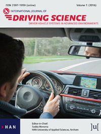 cover image for the International Journal of Driving Science journal