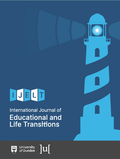 cover image for the International Journal of Educational and Life Transitions journal