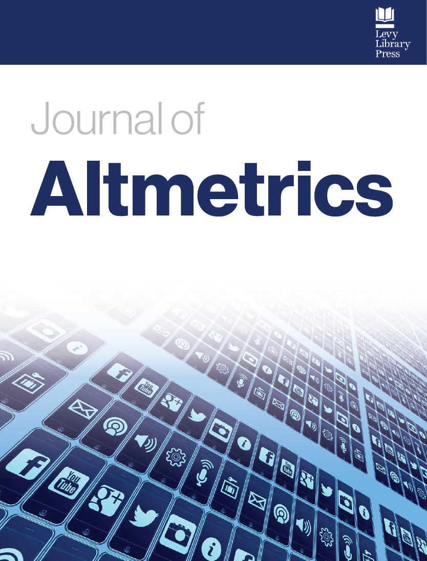 cover image for the Journal of Altmetrics journal