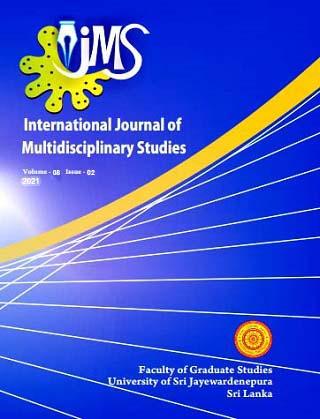 cover image for the International Journal of Multidisciplinary Studies journal