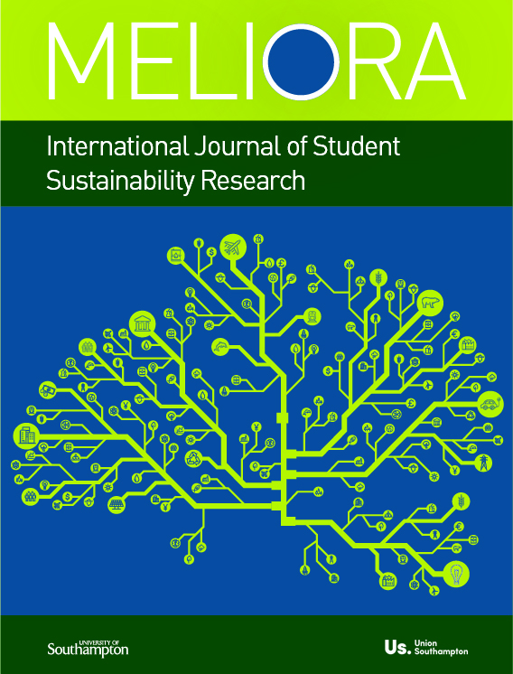 cover image for the Meliora: International Journal of Student Sustainability Research journal