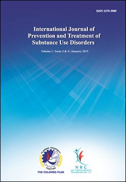 cover image for the International Journal of Prevention and Treatment of Substance Use Disorders journal