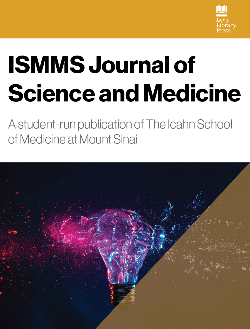 cover image for the ISMMS Journal of Science and Medicine journal