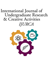 cover image for the International Journal of Undergraduate Research and Creative Activities journal