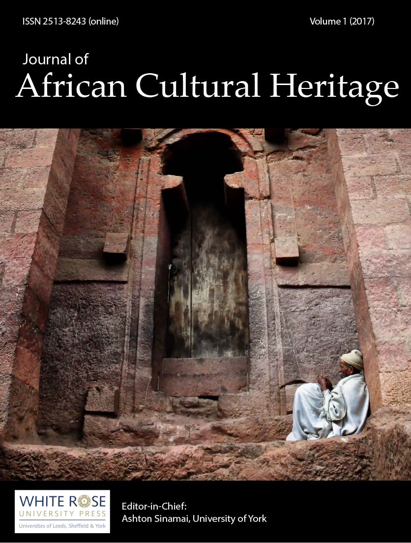 cover image for the Journal of African Cultural Heritage Studies journal