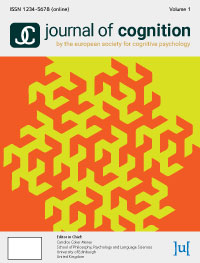 cover image for the Journal of Cognition journal