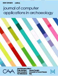 cover image for the Journal of Computer Applications in Archaeology journal
