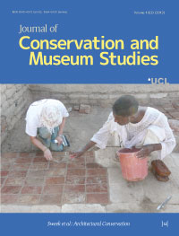 cover image for the Journal of Conservation and Museum Studies journal
