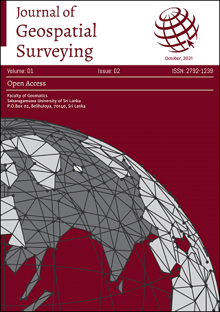 cover image for the Journal of Geospatial Surveying journal