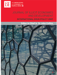 cover image for the Journal of Illicit Economies and Development journal
