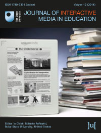 cover image for the Journal of Interactive Media in Education journal