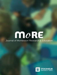 cover image for the Journal of Montessori Research & Education journal