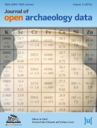 cover image for the Journal of Open Archaeology Data journal