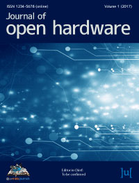 cover image for the Journal of Open Hardware journal