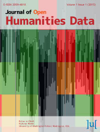 cover image for the Journal of Open Humanities Data journal