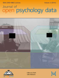 cover image for the Journal of Open Psychology Data journal