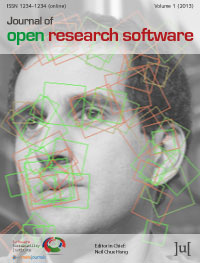 cover image for the Journal of Open Research Software journal