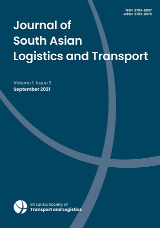 cover image for the Journal of South Asian Logistics and Transport journal