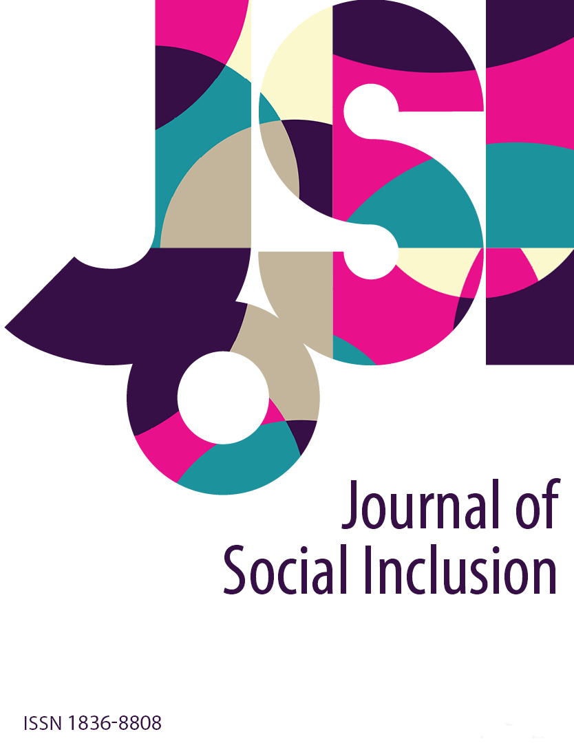 cover image for the Journal of Social Inclusion journal