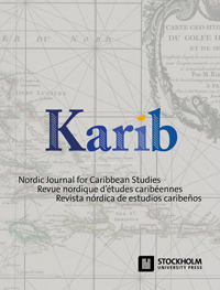 cover image for the Karib – Nordic Journal for Caribbean Studies journal
