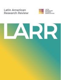 cover image for the Latin American Research Review journal