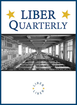 cover image for the LIBER Quarterly journal