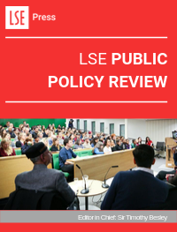 cover image for the LSE Public Policy Review journal