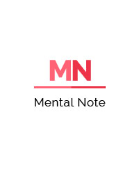 cover image for the Mental Note journal