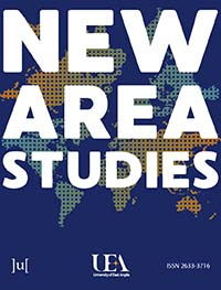 cover image for the New Area Studies journal
