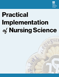 cover image for the Practical Implementation of Nursing Science journal