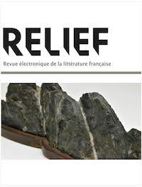 cover image for the RELIEF - Revue Électronique de Littérature Française journal