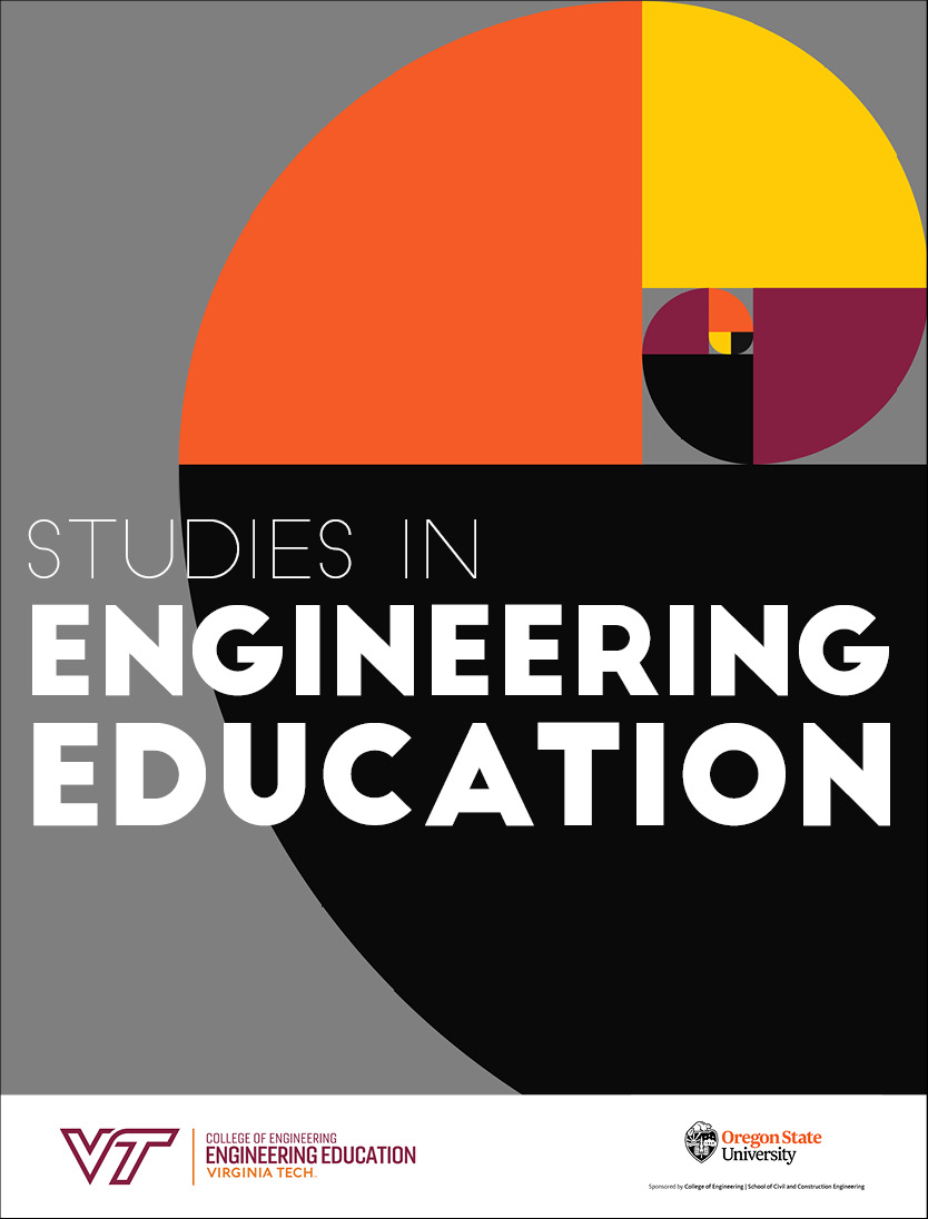 cover image for the Studies in Engineering Education journal