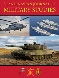 cover image for the Scandinavian Journal of Military Studies journal