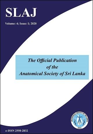 cover image for the Sri Lanka Anatomy Journal journal