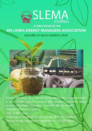 cover image for the SLEMA Journal journal