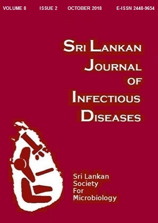 cover image for the Sri Lankan Journal of Infectious Diseases journal