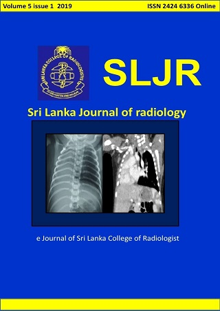 cover image for the Sri Lanka Journal of Radiology journal