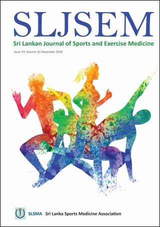 cover image for the Sri Lankan Journal of Sports and Exercise Medicine journal