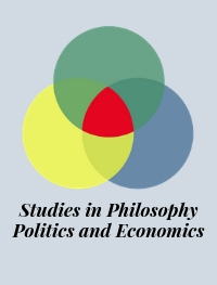 cover image for the Studies in Philosophy, Politics and Economics journal